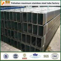 China AISI 316/316L thick wall stainless steel welded rectangular tube on sale