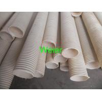 Quality Plastic PVC Double Wall Corrugated Pipe Extrusion Line With Twin Screw Extruder for sale