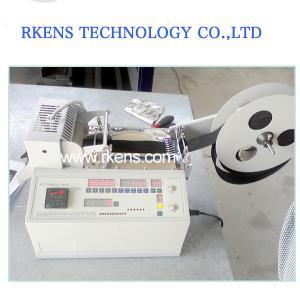 China Hot Knife Nylon/Polyester Webbing Tape Cutting Machine, Heat Tape Cutter on sale
