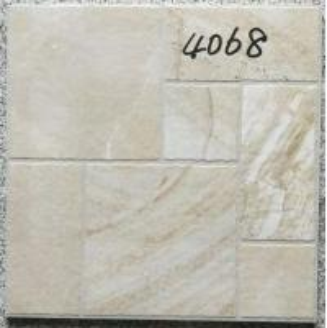 Quality Decorative 400 X 400 White Tiles  For Bathroom Shower Non Slip Ceramic for sale