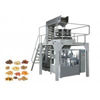Quality Zipper Stand Up Pouch Packaging Machinery , Automatic Biscuit Packing Machine for sale