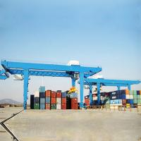 Quality Rtg Container Lifting Crane Mobile Double Beam With Voltage Lower Protection for sale