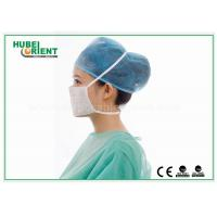 Quality 17.5x9.5cm Disposable Nonwoven Meltblown Tie On Face Mask For Medical Use for sale