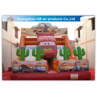 Quality Cartoon Giant Commercial Water Slip And Slide Inflatable Toys For Adults And Kids for sale