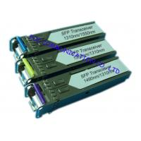 Quality Bi - Di Gigabit Ethernet Transceiver , Small Form-Factor Pluggable Optical Transceiver for sale