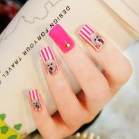Quality Latest Nail product,3D Nail Sticker,Fashion Crystal 3D Nail Art for sale