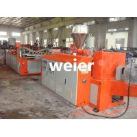 Quality 880mm Corrugated Roofing Sheet Making Machine Plastic UPVC PVC for sale