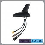 Quality Auto AM FM Gps External Antenna , Shark Fin Car Aerial RHCP Polarization for sale