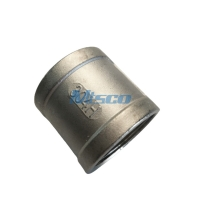 Quality CF8/CF8M Stainless Steel Coupling Steel Pipe Coupler Tread Connection NPTF for sale