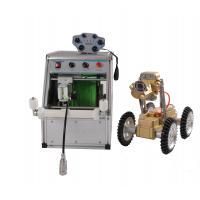Quality Powerful Crawler Drive Pipe Crawler Robot With Windows Operation System for sale