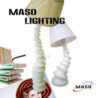 Quality Turnado Large Floor Lamp Resin Material Lighting MS-F1007 CE Approval Light Base for sale