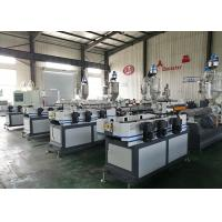 Quality PP / PE Electrical Corrugated Pipe Machine 25-30 Meter / Min High Temperature Resistance for sale