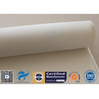 Quality White High Silica Fabric 1200℃ 36OZ 50M Roll Oven Heat Insulation Sealing for sale