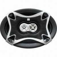 Quality 6 x 9-inch Three-way Car Speaker with Gray Iron Basket and 150W Maximum Power for sale