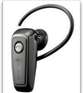 China Samsung WEP200 Bluetooth Wireless Phones Headset (Black) on sale