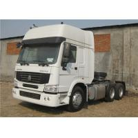 Quality 6x4 10 Wheeler Tractor Head Heavy Duty RHD Prime Mover 371HP HOWO Tractor Head for sale