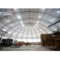 Buy cheap Big large polygon aluminum frame pvc event tent for Tennis court basketball from wholesalers