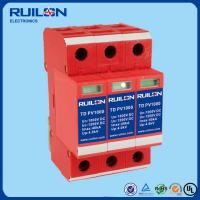 Quality Ruilon TD PV1000 Series lightning Arrester surge protector for photovoltaic system for sale