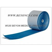 Quality Breathable Blue Cohesive Foam Bandages For Ankles Wrists Hands Protection for sale