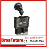 China Dual Camera Car DVR Double Channel with Night vision / Photo Resolution 2560*1920 on sale