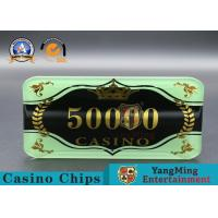 Quality Custom Ceramic Clay And Plastic Casino Poker Chips With Custom Logo for sale
