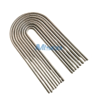 Quality 19.05mm Cold Rolled Seamless Welded U Bend Tube Nickel Alloy For Heat Exchanger for sale