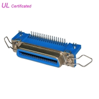 Quality Champ Centronics 36 Pin Connector 50pin 24pin 14pin PCB Right Angle Connector With Spring Latch for sale