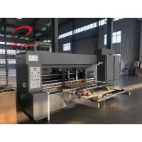 Quality Automatic Corrugated Board Lead Edge Feeding Slotter Machinery 1200x2400 Size for sale