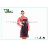 Quality Oil Prevention Single Use Nonwoven Apron Without Sleeves for sale