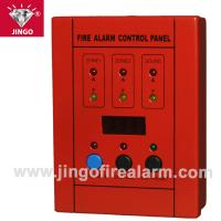 Buy cheap Conventional fire alarm 2 wire systems control Slave panel 2 zones from wholesalers