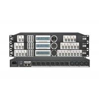 China High End Audio Video Processor , PA Processor 4 ins 8 out Dsp Dj Speaker Management on sale