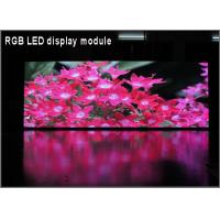 Quality P8 Outdoor RGB Full Color LED Display Module 3in1 256*128mm 32*16 pixels for High Clear Big Screen for sale