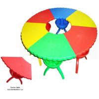 China Hot sale School Furniture import LLDPE Kids plastic table and