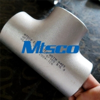 Quality WP316L ASTM A403 DN250 Stainless Steel Pipe Tee Forged Cold Forming for sale
