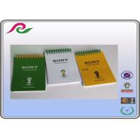 Quality Coated paper cover A6 school Recyclable spiral wire sticky notes 50 sheets for sale