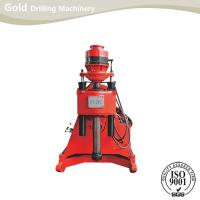 Quality Dual speeds level Hydraulic feeding high-efficiency water drill rig core drill rig for sale