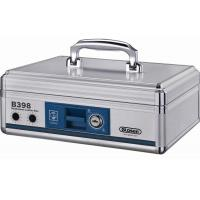 Quality Aluminium Portable Cash Box Lockable Money Box For Banknote And Coin for sale