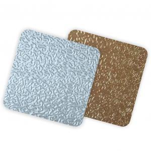 China Orange Peel Pattern Embossed Aluminum Panels 3003 3004 5052 5005 5083 6061 on sale