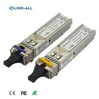 Quality 1.25G 1310NM/1550NM(1550NM/1310NM) Wavelength BIDI 60KM Transceiver With SC Connector for sale