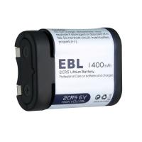 Buy cheap 6 Volt Photo Lithium Battery EBL 2CR5 High Energy Density 34.0 × 16.7 × 45.0mm from wholesalers