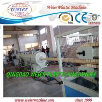 Quality 50 - 160mm PVC Pipe Manufacturing Machine Squar / Round Pipe for sale