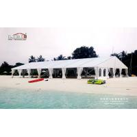 Quality Aluminum Big Outdoor Tents For Wedding Receptions , 500 People Wedding Canopy Tent for sale