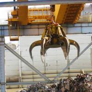 Quality Double girder overhead crane garbage grab factory bridge travelling crane for sale