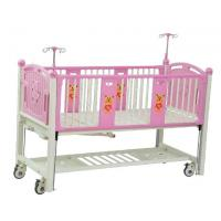 China Manual Hospital Baby Crib Portable For Child Steel Structure 1880*900*1210mm on sale