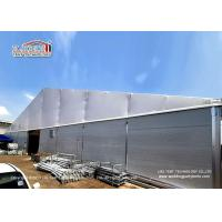 Quality Industrial Storage 30m Clear Span Tent With Double PVC Layer And Insulated Sandwich Walls Around for sale