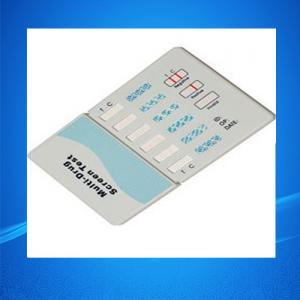 China Home Drug Test Kits/Six Panel Drug Abuse Test Kits / Drug Abuse Test Kits on sale