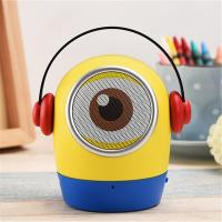 China Minions JYWT Creative Bluetooth Speakers Hands Free MP3 Player MIC TF USB Toy on sale