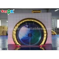 Quality Portable Camera Shape Inflatable Photo Booth with LED for Advertising for sale