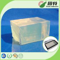 Quality Gift Box PSA Pressure Sensitive Adhesive Packaging Strong Adhesive, Yellow and semi-transparent Block Hot melt adhesive for sale