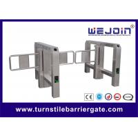 Buy cheap Intelligent swing barrier with bridge-type and steel and aluminum alloy motor from wholesalers